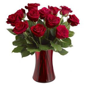 Blooming Heart Roses buy at Florist