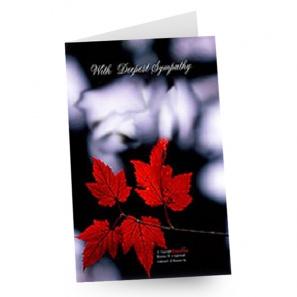 Full Size Sympathy Card buy at Florist