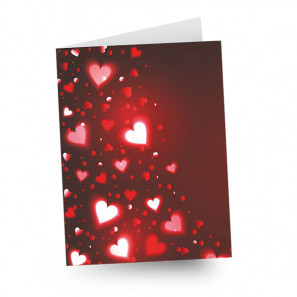 """Full Size """"LOVE"""" Card buy at Florist"""