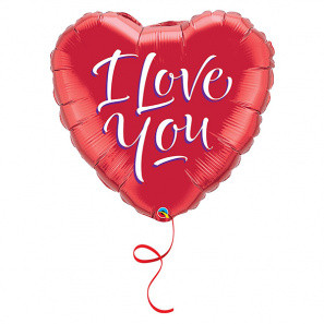 I Love You Balloon buy at Florist