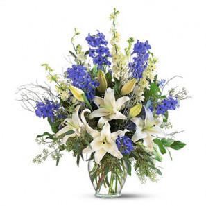 Sapphire Miracle Arrangement buy at Florist