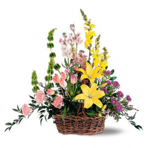 Springtime Basket buy at Florist